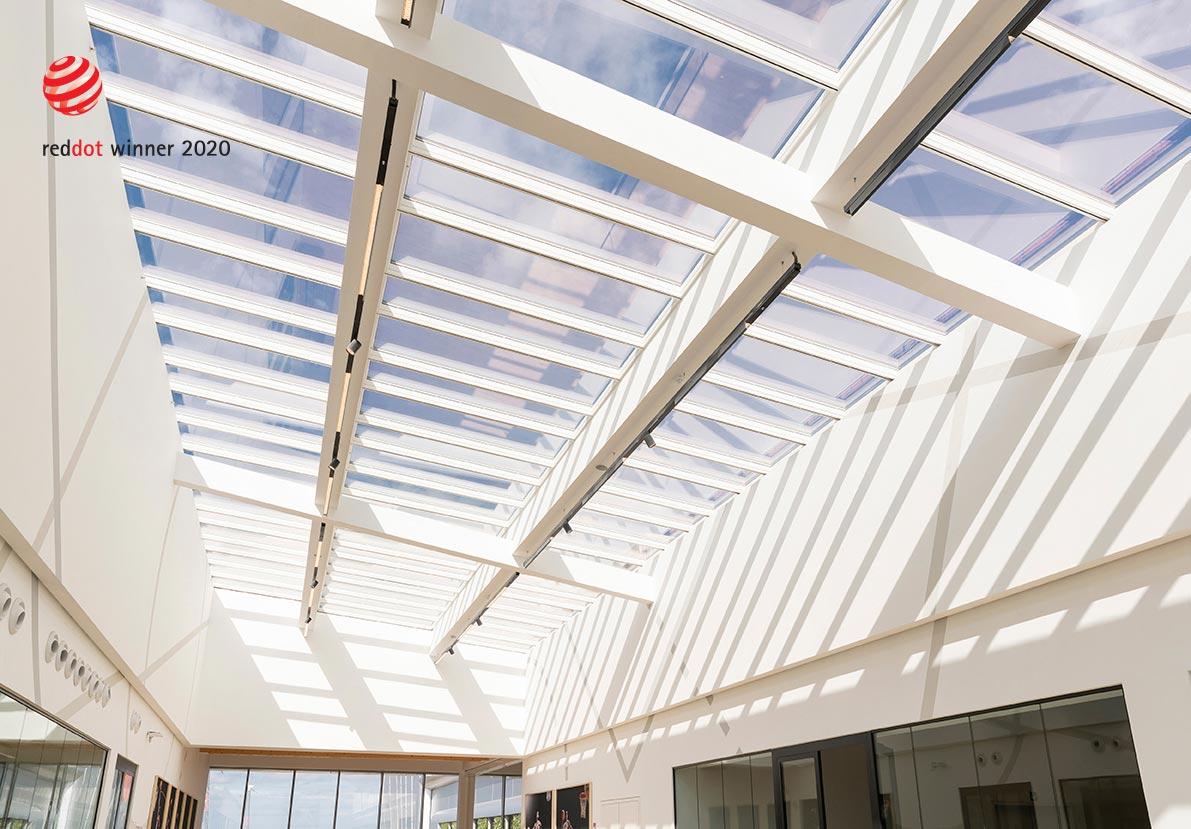Tageslichtnorm ÖNORM EN 17037 -Glasdachsystem VELUX Modular Skylights