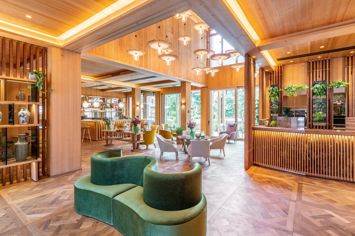 Das Green Spa-Hotel MalisGarten in Zell am Ziller Lobby