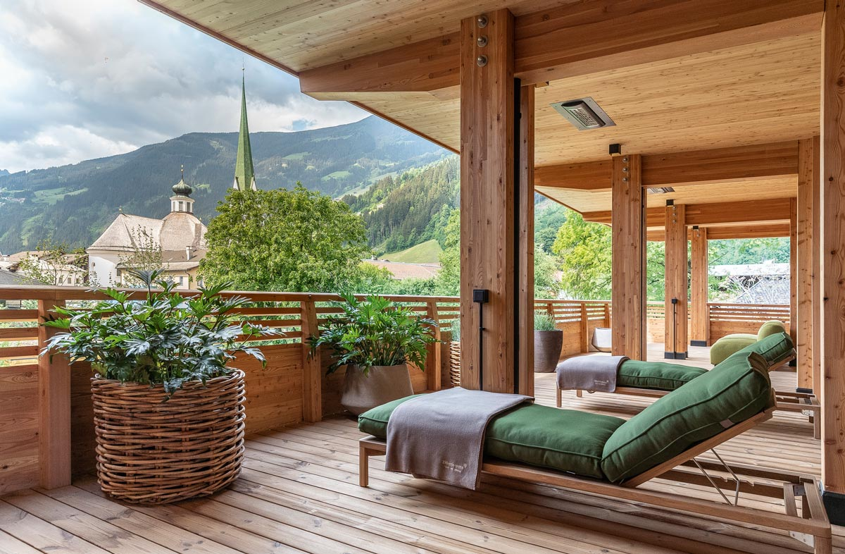 Das Green Spa-Hotel MalisGarten in Zell am Ziller