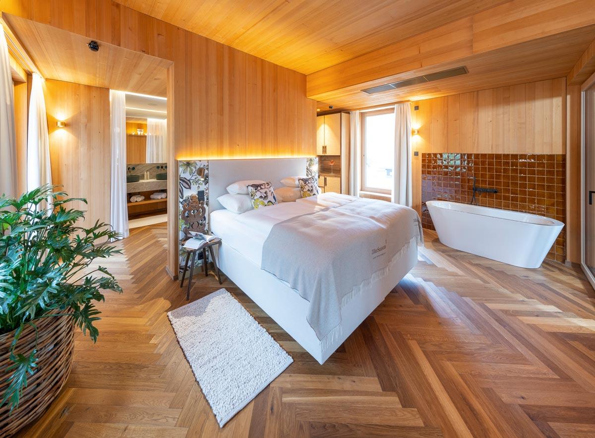 Zimmer Green Spa-Hotel MalisGarten in Zell am Ziller