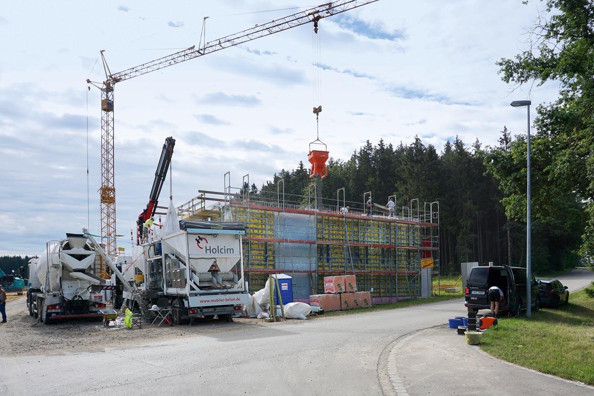 Lafarge Holcim - mobiles Betonwerk
