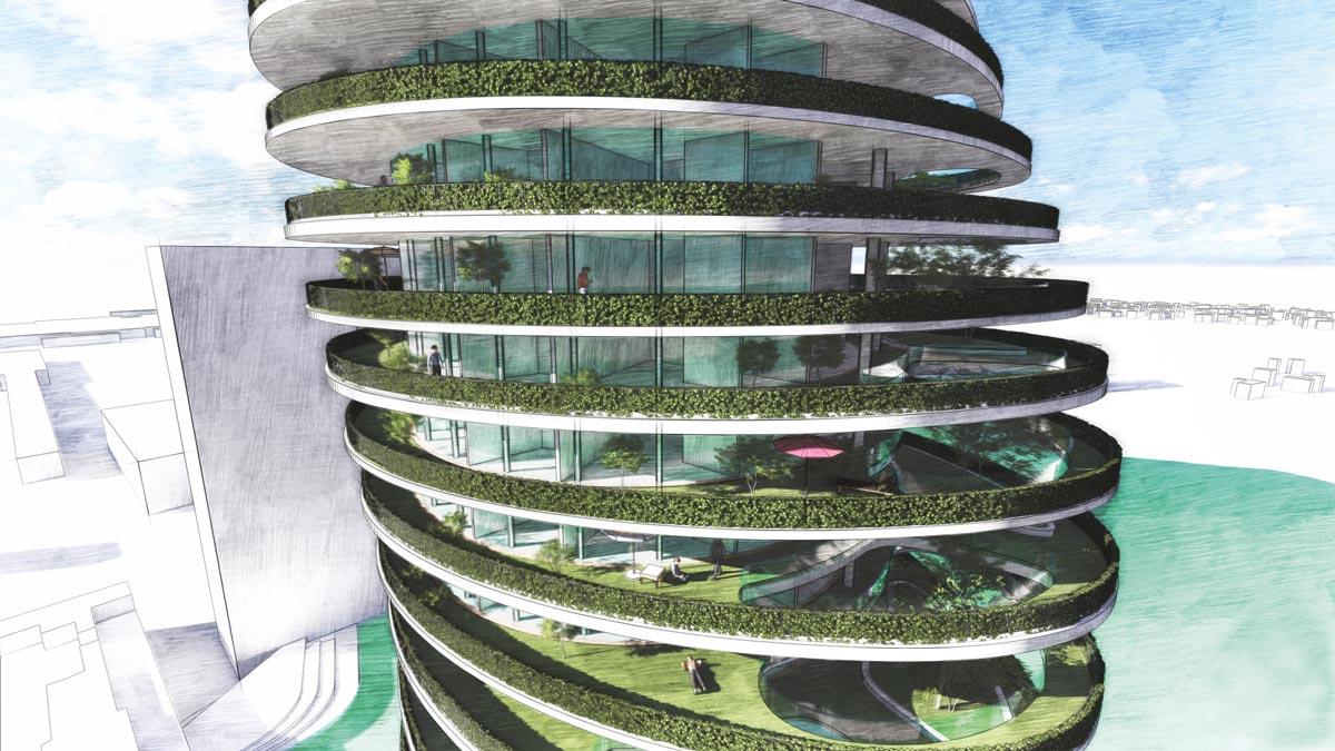 Concrete Student Trophy 2020 Siegerprojekt Capa Verde