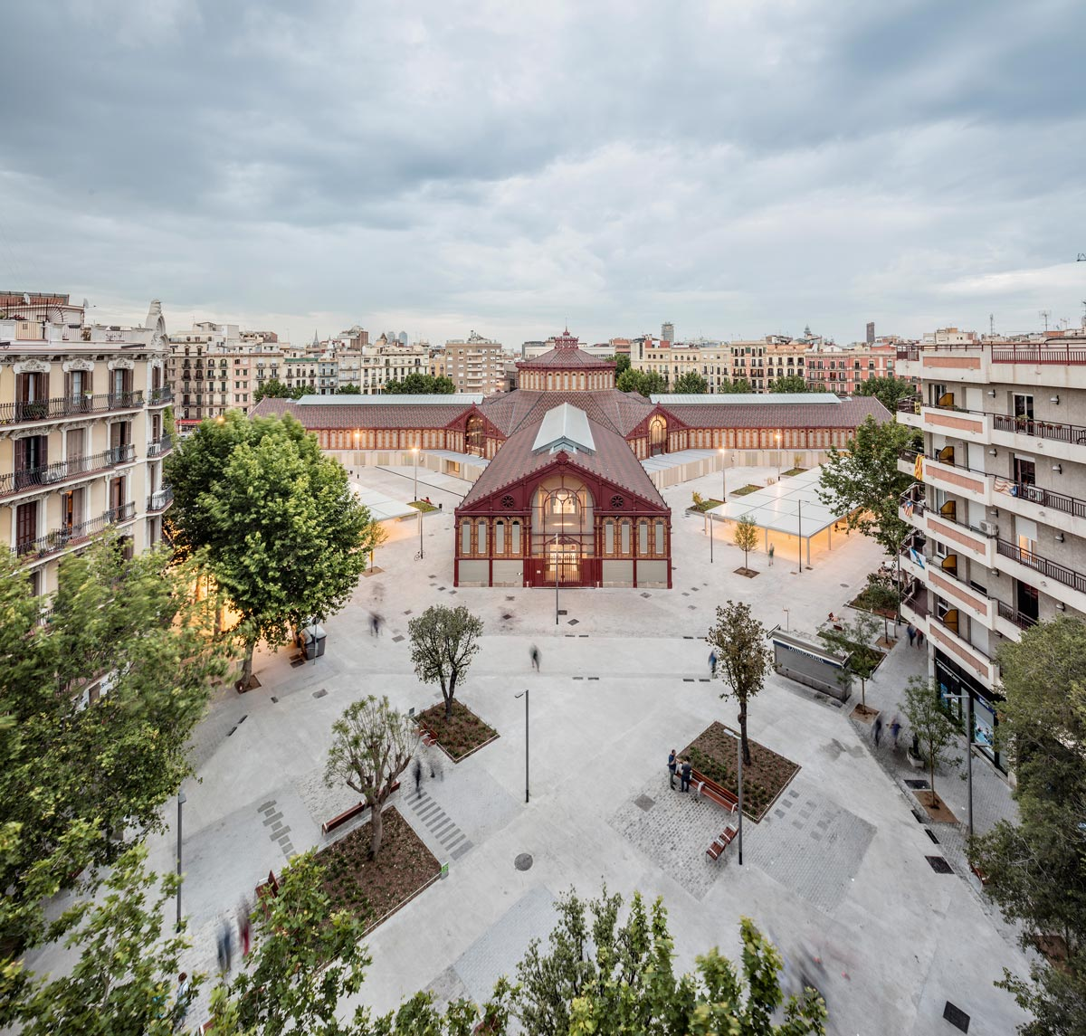 Markthalle Sant Antoni in Barcelona