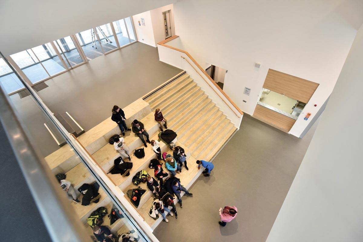 nora Böden in der Erich-Kästner-Schule Hamburg