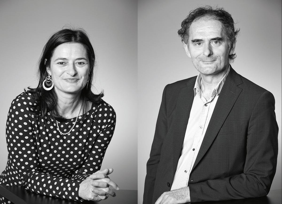 Iris und Michael Podgorschek von podpod design