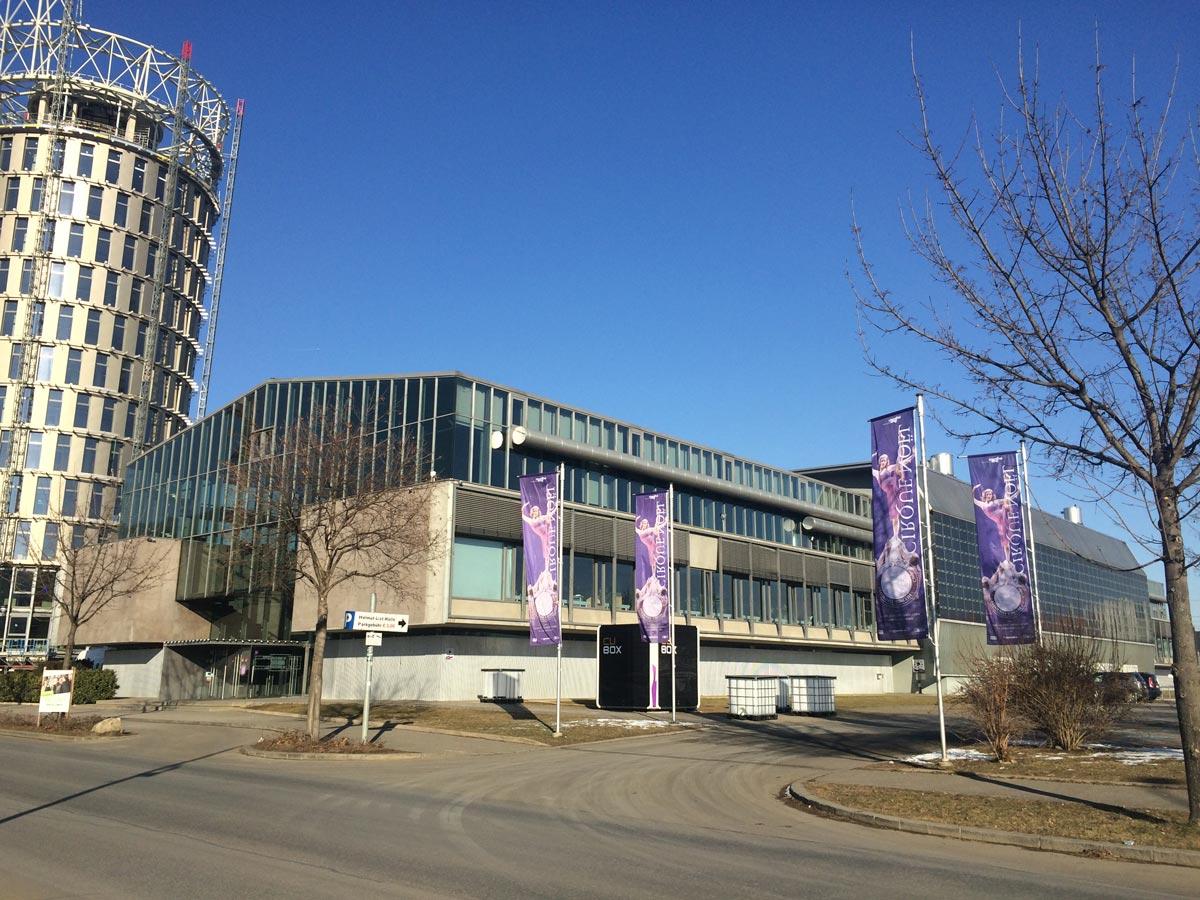 Helmut List Halle und Science Tower Graz