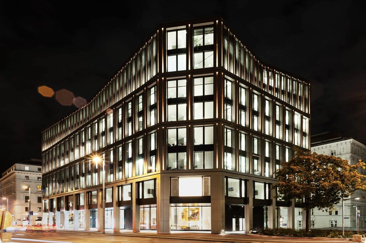Kunden- und Verwaltungszentrum der BUWOG in der Rathausstraße 1
