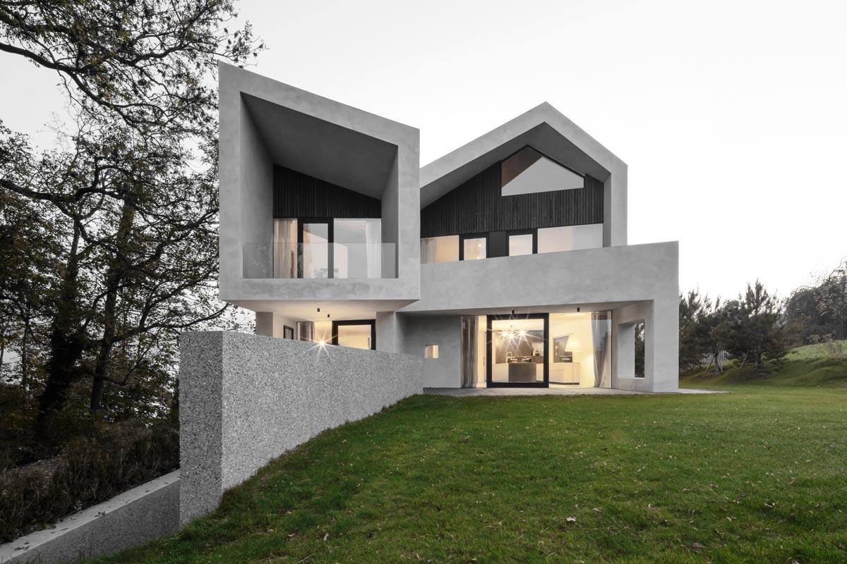 Villa b - Bergmeisterwolf Architekten