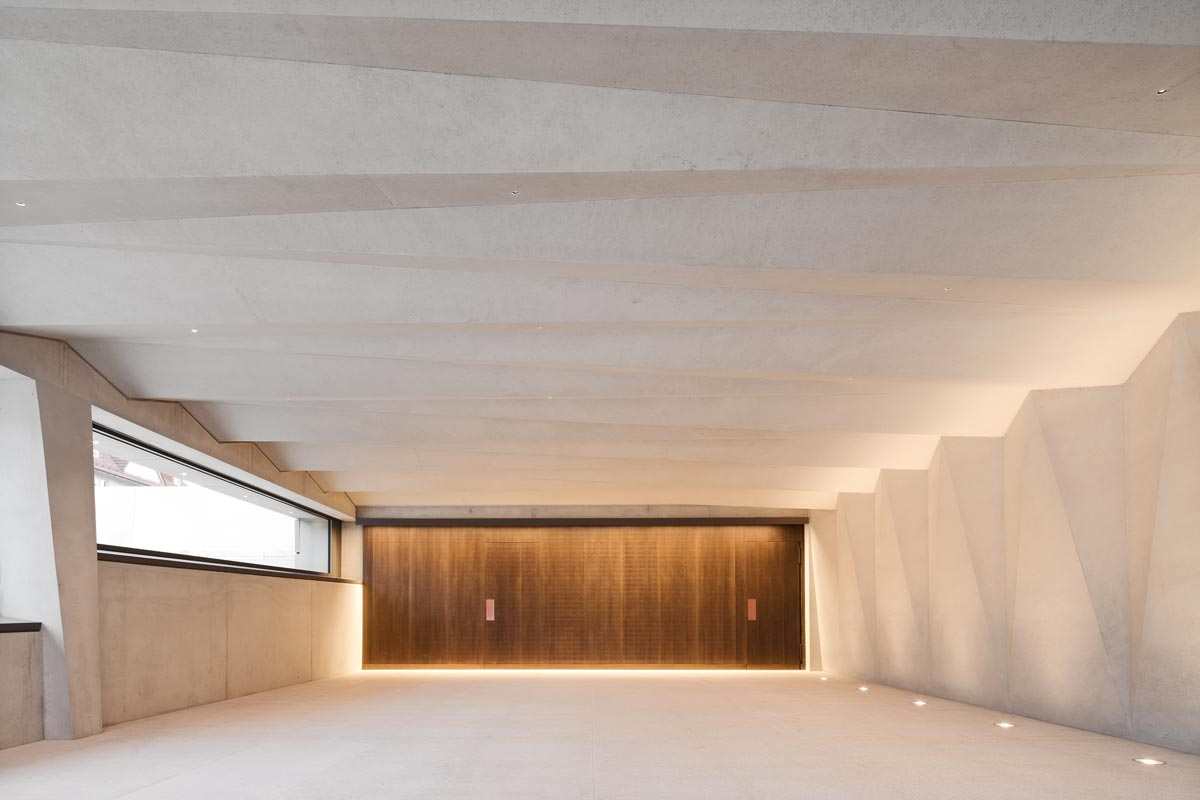 Das von den Ecker Architekten geplante Gemeindezentrum in Gaiberg