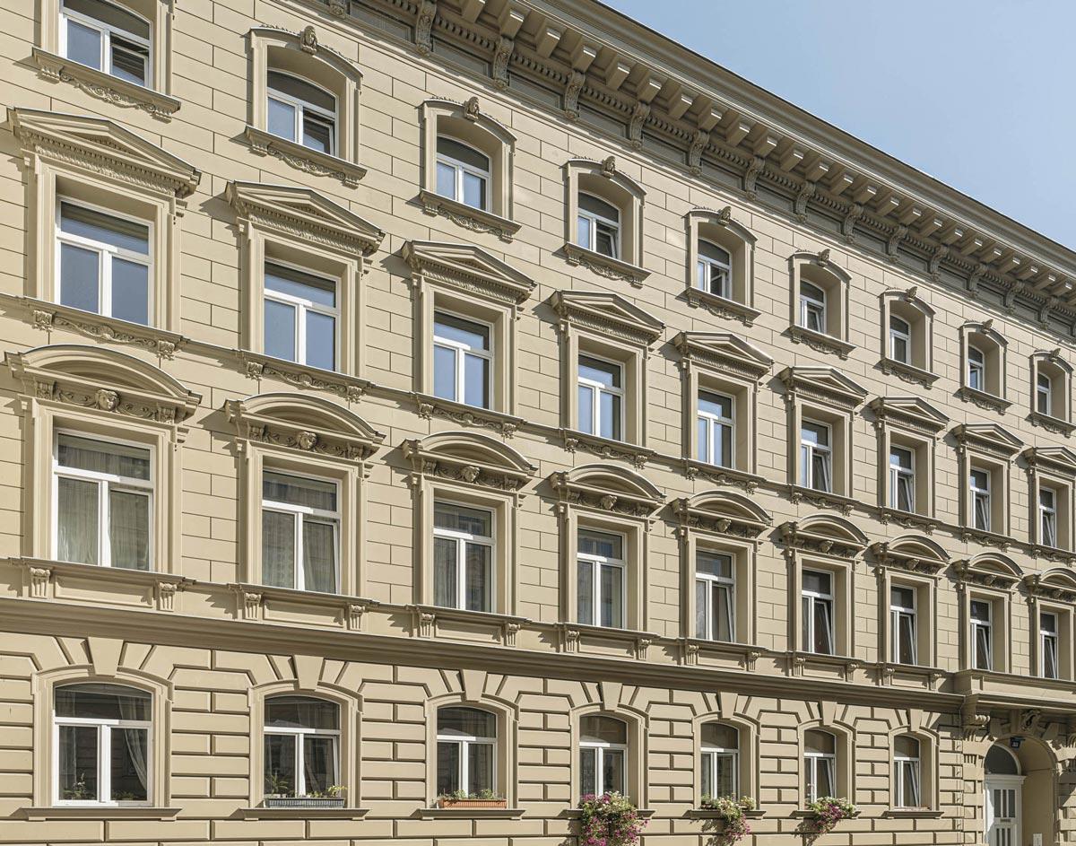 Austrotherm - Thermische Sanierung von historischen Fassaden