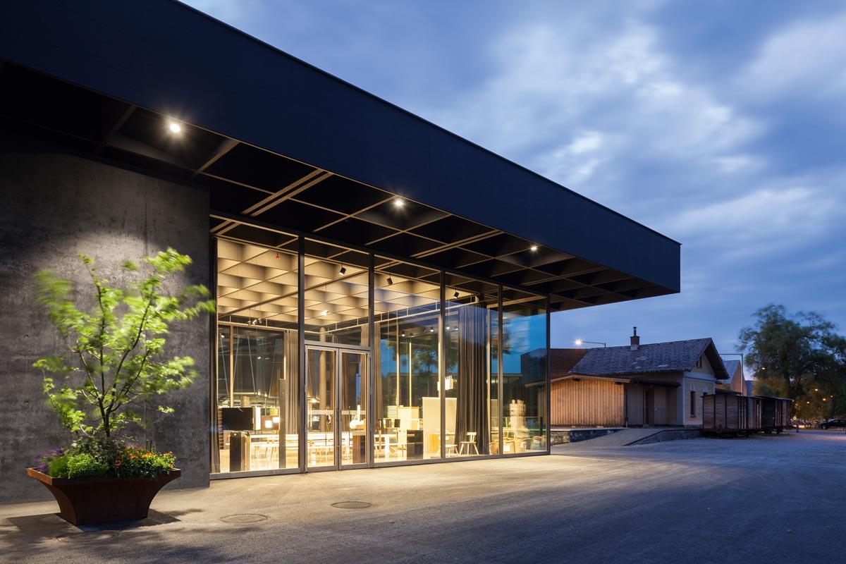 Architektur im Bregenzerwald - Werkraumhaus von Peter Zumthor