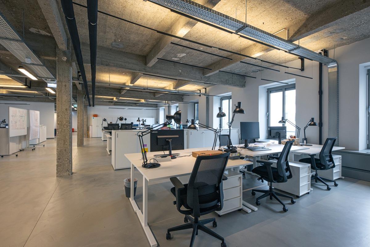A.C.C. Architekten - Office Lofts in der Fabricatur