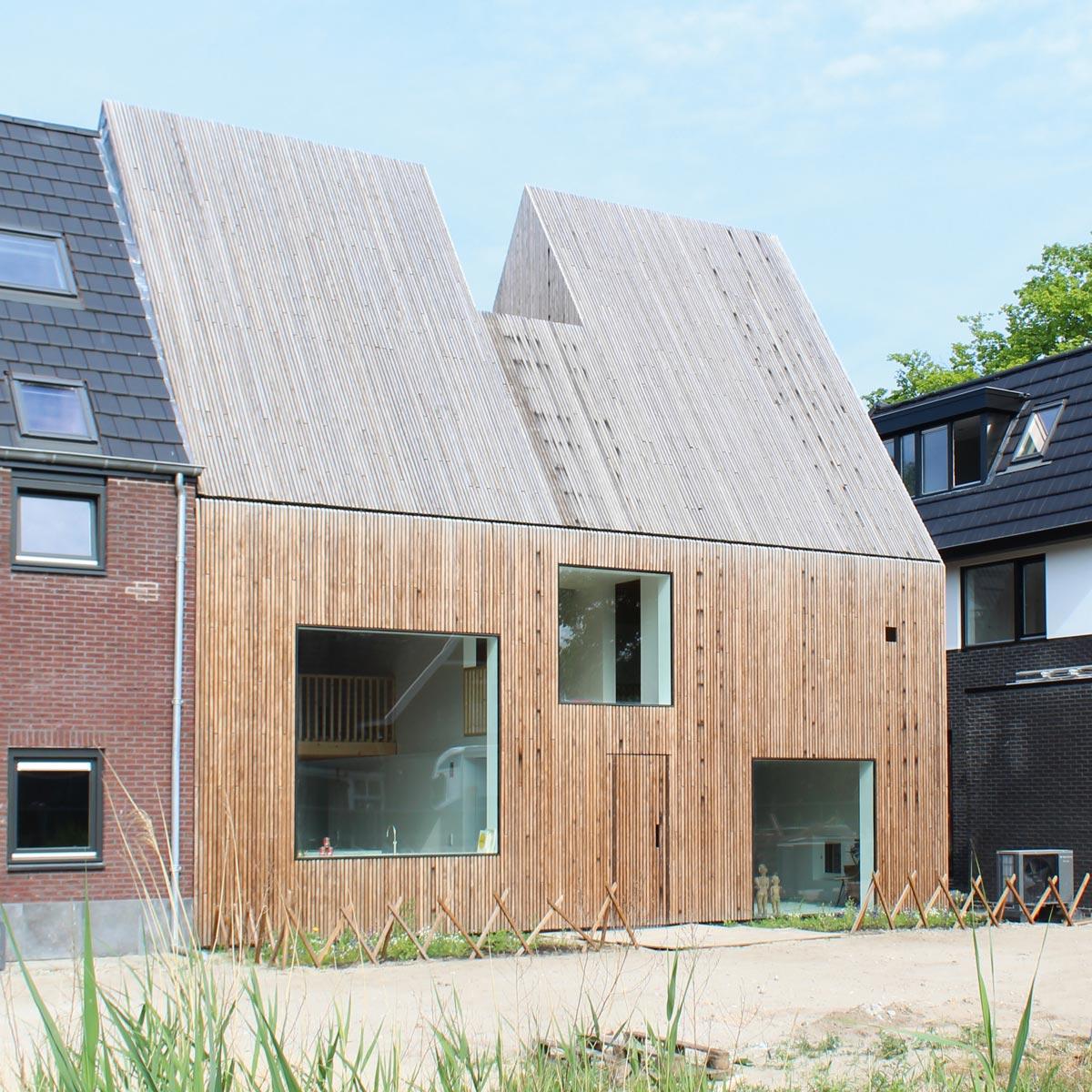 Julius Taminiau Architects - Rhythm House in Amsterdam