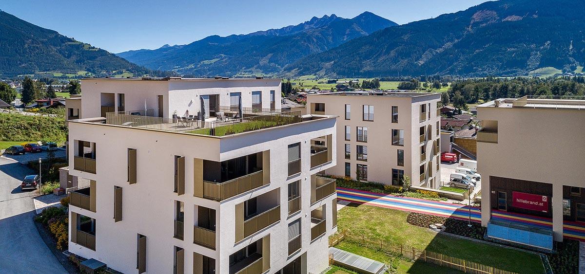 Klimaschutz Architektur - Sonnengarten Limberg in Zell am See, Salzburg