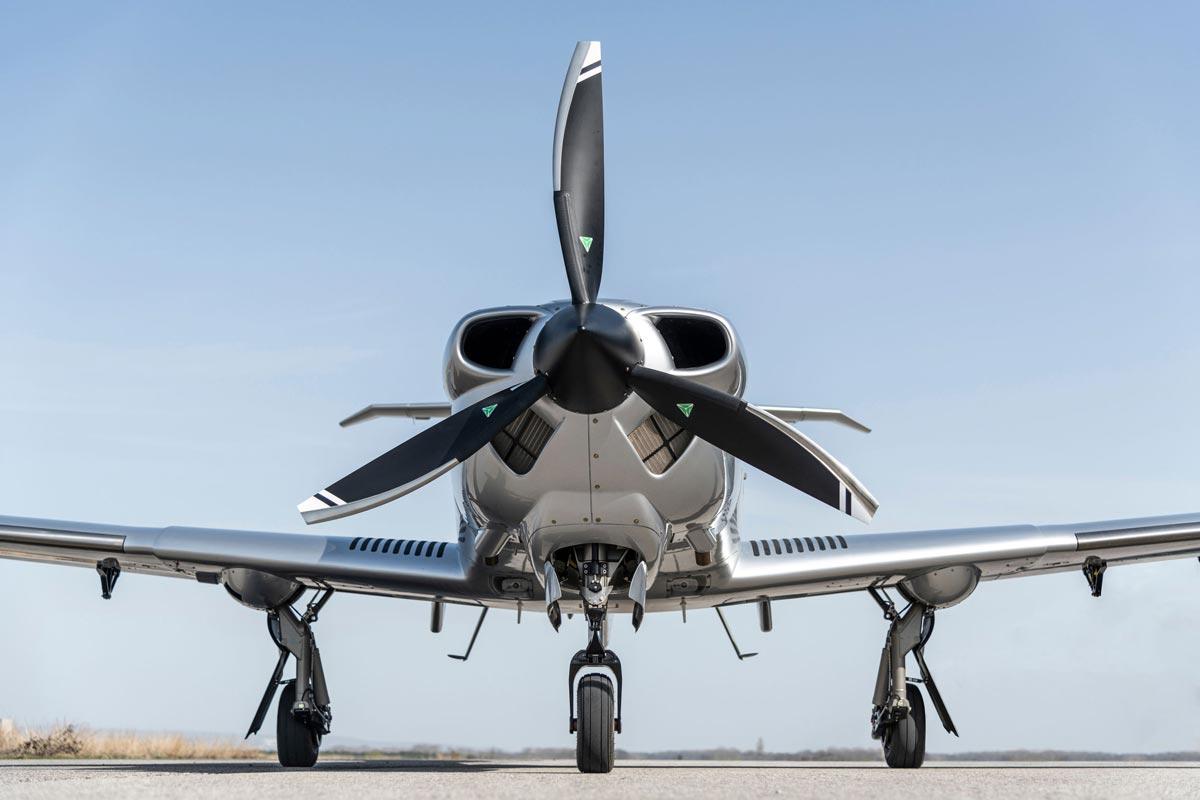 """Diamond Aircraft DA50 RG Flugzeug, Preisträger in der Kategorie """"Product Design"""" aus Wiener Neustadt, Österreich"""