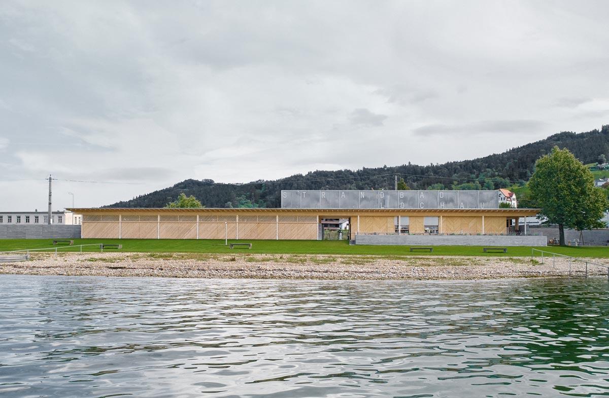Strandbad Lochau von Innauer Matt Architekten