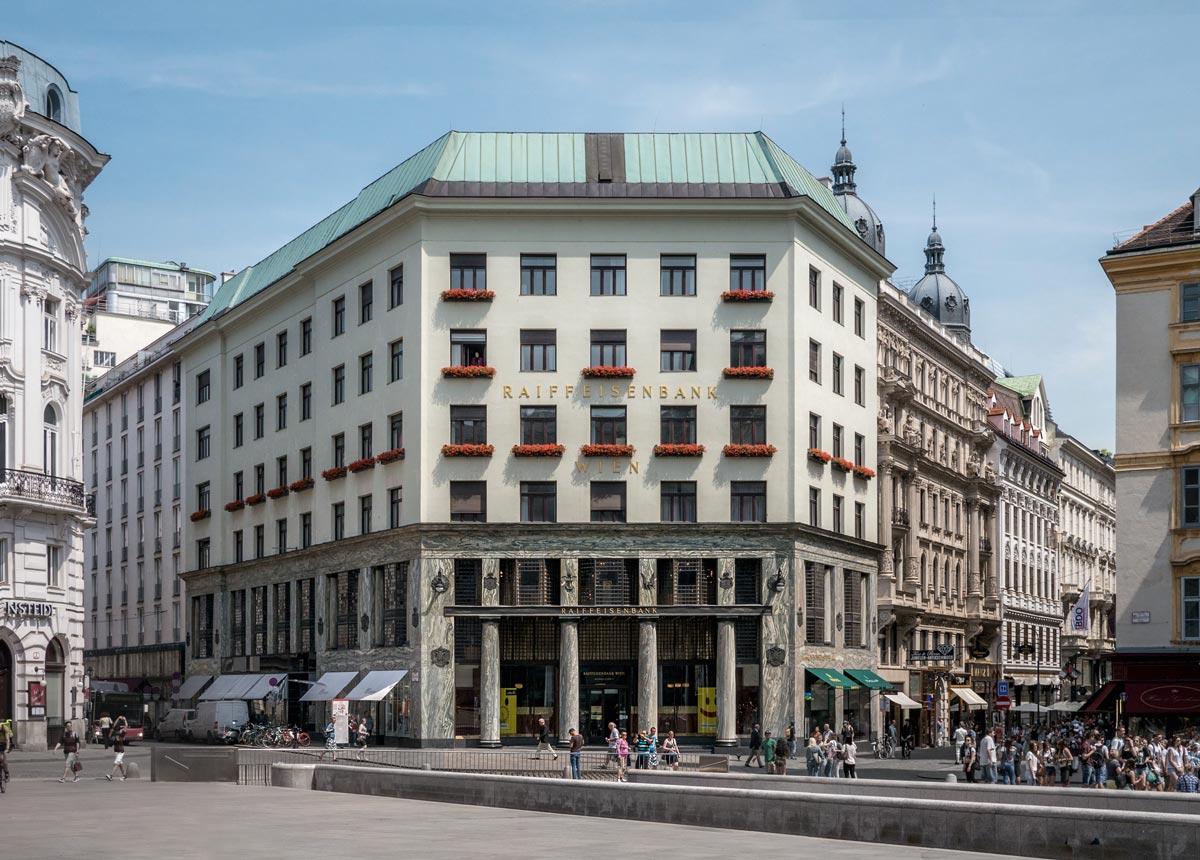 Adolf Loos - Looshaus in Wien