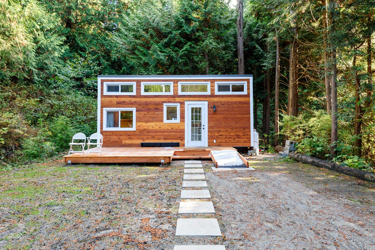 Tiny Houses - Ob als Hauptwohnsitz oder Wochenendhaus, weniger Raum bedeutet für viele Menschen eine größere (finanzielle) Freiheit.
