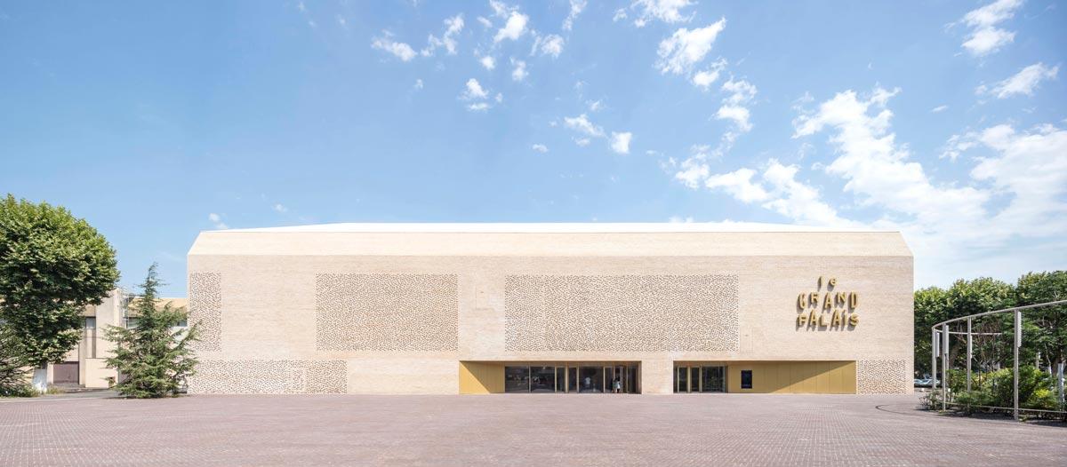 Antonio Virga Architecte - Le Grand Palais Cahors, Frankreich