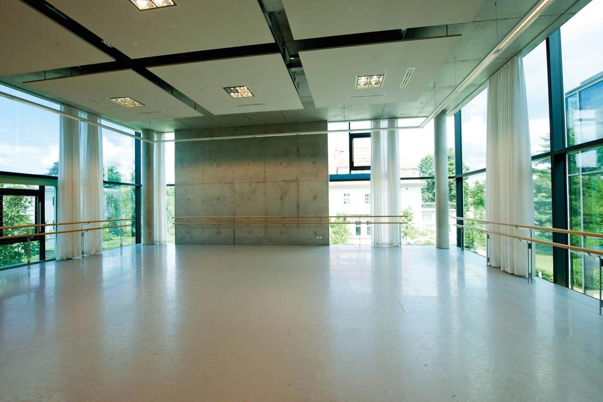Harlequin Liberty und Studio Tanzböden an der Palucca Hochschule für Tanz Dresden